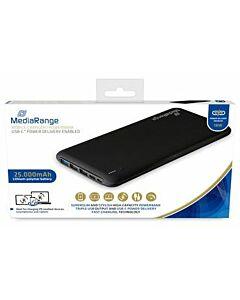 MediaRange Powerbank 25000 QuickCharge met Type-C